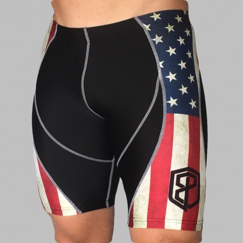 America Shorts Front