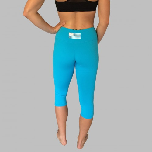 Blue Capris Back Site
