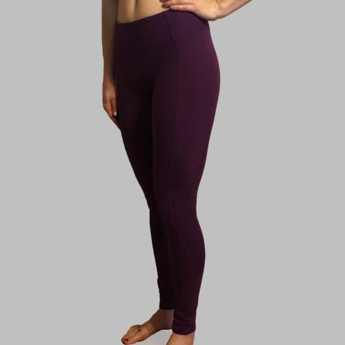 Purple Leggings Front