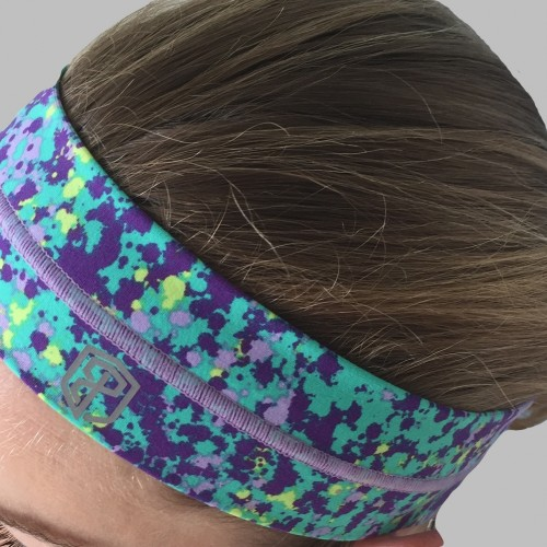 Purple Splash Headband