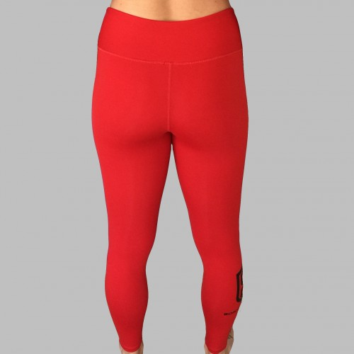 Red Leggings Back