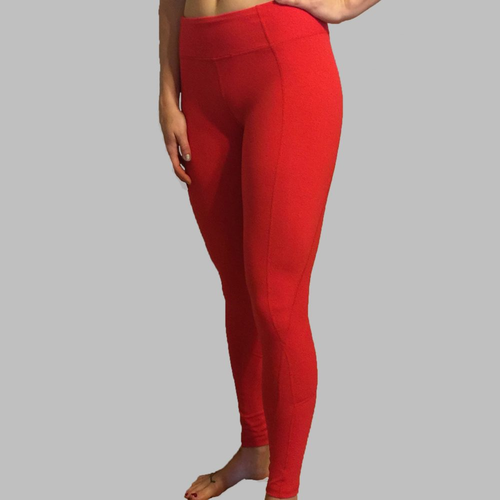Red Leggings Front Real